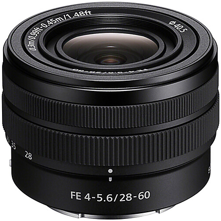 Sony FE 28-60mm F4-5.6 Full-frame Compact Zoom Lens