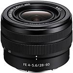 Sony FE 28-60mm f/4-5.6 Zoom Lens