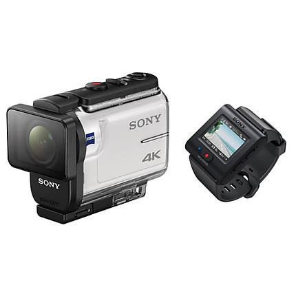 Sony FDR-X3000R 4K Action Camera with Live View Remote