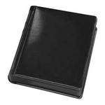 Tap 10 x 10 In. Bella Plain Album Black with Black Pages (12 Pages)