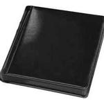 Tap 8 x 10 In. Bella Plain Album Black with Black Pages (12 Pages)