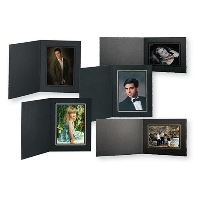 Tap Picture Folder Frame Buckeye Ebony Ebony For 8x10 Photo 10 Pack