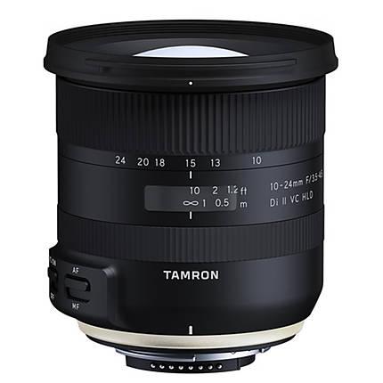 Tamron 10-24mm f/3.5-4.5 Di II VC HLD Lens for Nikon F