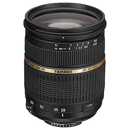 Tamron SP AF XR Di LD Macro 28-75mm f/2.8 Medium Zoom Lens for Nikon - Black