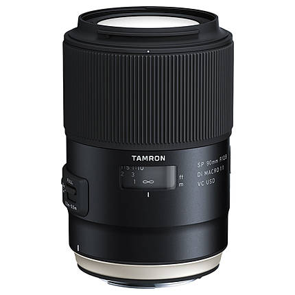 Tamron SP 90mm f/2.8 Di VC USD 1:1 Macro Lens for Canon EF Mount