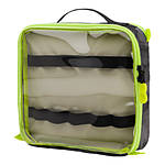 Tenba Tools Cable Pouch Duo 8 Black with Fluorescent Lime Green Piping