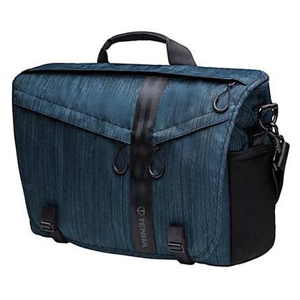 Tenba DNA 15 Slim Messenger Camera and Laptop Bag Cobalt