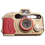 Used Canon Sureshot WP-1 Underwater Film Camera - Excellent