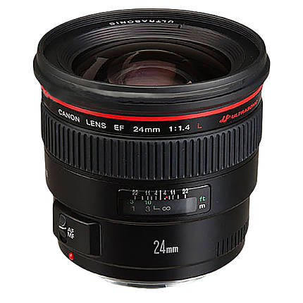 Used Canon 24mm f/1.4L Version 1 Lens [L] - Excellent