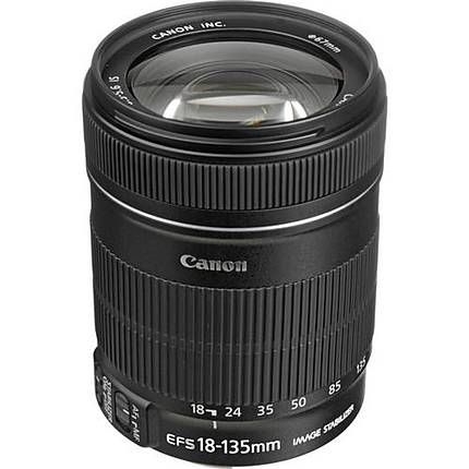 Used Canon EF-S 18-135mm F/3.5-5.6 IS Zoom Lens - Excellent