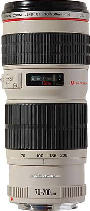 Used Canon EF 70-200mm f/4.0L USM - Excellent