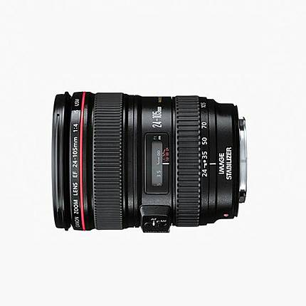 Used Canon EF 24-105MM F/4L IS USM Lens [L] - Excellent