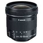 Used Canon EF-S 10-18mm f/4.5-5.6 IS STM - Excellent