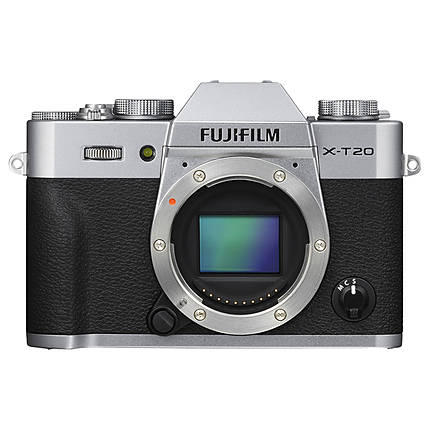 Used Fujifilm X-T20 Body Only Silver [M] - Excellent