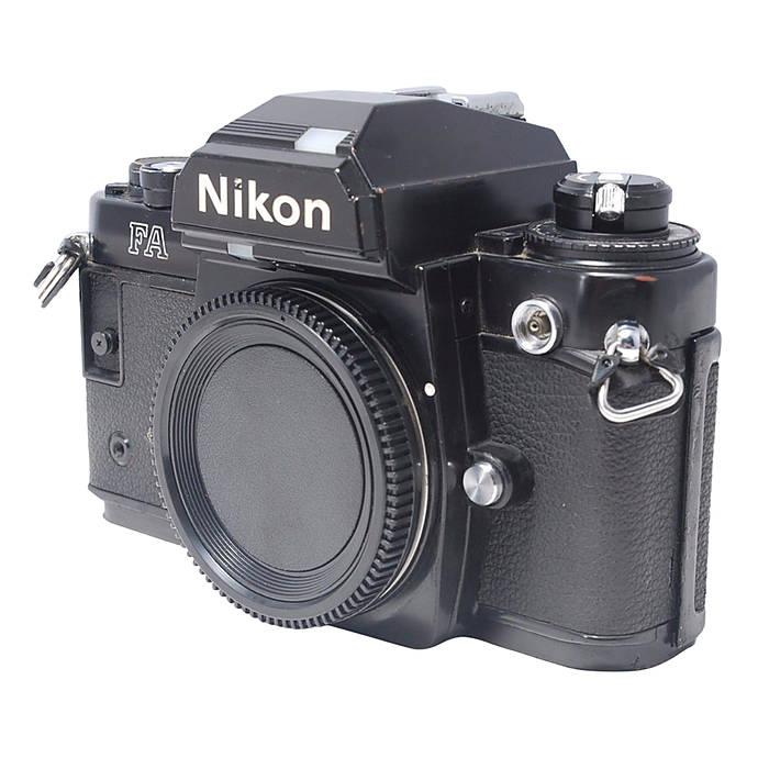 used nikon fa 35mm slr camera body f excellent used trades rh uniquephoto com Manual DSLR Camera Olympus Auto Focus 35Mm Film Camera