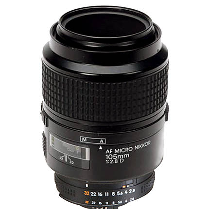 Used Nikon 105MM F/2.8D Micro - Excellent