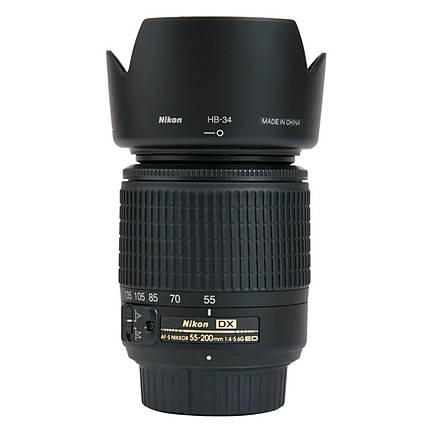 Used Nikon 55-200mm f4-5.6G ED AF-S DX - Excellent