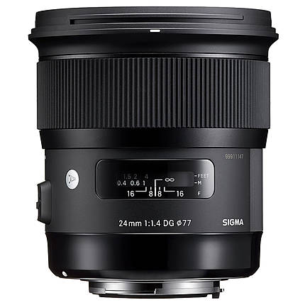 Used Sigma 24mm f/1.4 ART for Canon EF - Excellent