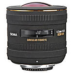 Used Sigma 4.5mm f/2.8 Circular Fisheye Lens for Canon [L] - Excellent