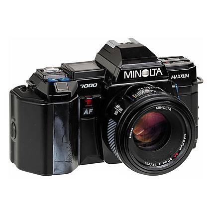 Used Minolta Maxxum 7000 Film SLR With 50mm 17 Lens F