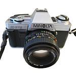 Used Minolta X-370 SLR w/ 50mm f/1.7 - Good