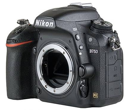 Used Nikon D750 Body [D] - Good