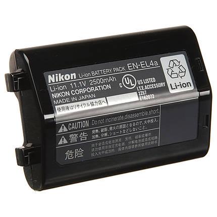 Used Nikon EN-EL4a Li-ion Battery Pack D2H/D2X/D2X/D3/D3X/D3S - Good