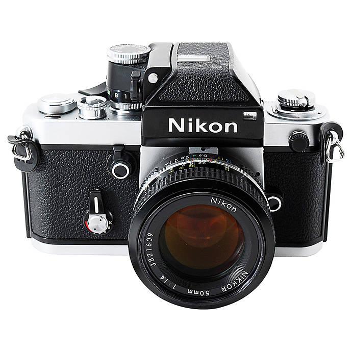 Used NIkon F2 w/ 50mm 1 4 Non Ai- Good