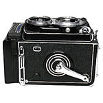 Used Rolleiflex T Model 3 Tessar 75mm f/3.5 - Excellent