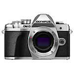 *Opened Box* Olympus OM-D E-M10 Mark III Mirrorless Digital Camera - Silver