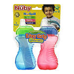 Nuby 10oz No Spill Cup with Soft Spout and Easy Grip Handles 2pk