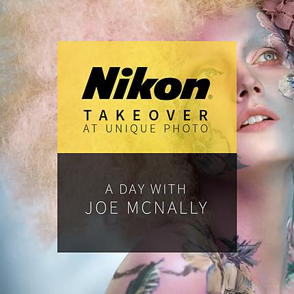 A Day with Joe McNally at Unique Photo (Nikon)