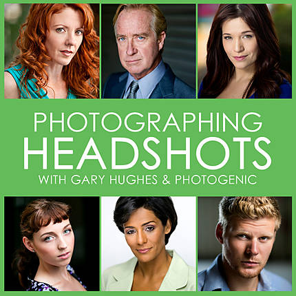 Photographing Headshots with Gary Hughes (Photogenic)