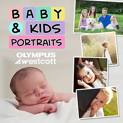 Baby and Kids Portraits 101 with Olympus and Westcott