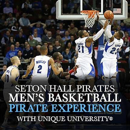 Capture the Seton Hall Pirates Mens Basketball (Pirate Experience)