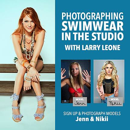 Photographing Swimwear in the Studio with Larry Leone