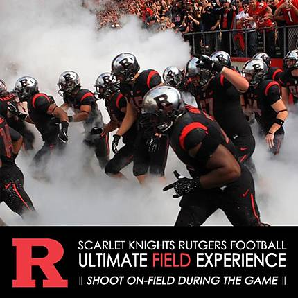 Rutgers Football Ultimate Experience: Be An Official Team Photographer