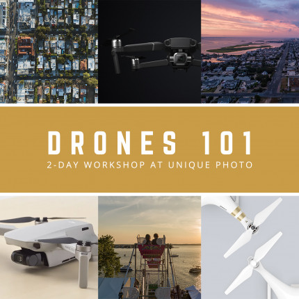 Drones 101: Hands-on 2-Day Workshop with Timothy Hughes