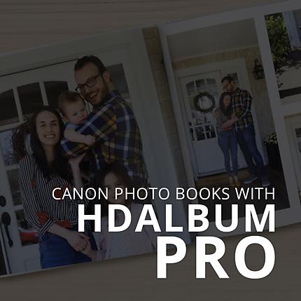 Canon Photo Books with HD Album PRO (Canon)