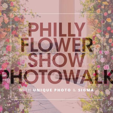 Philadelphia Flower Show Photowalk with Heather Larkin (Sigma)