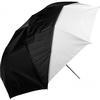 Westcott 43Inch Optical White Satin Umbrella W/Removable Black Cover