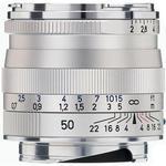 Zeiss Planar T 50mm f/2.0 ZM Standard Lens - Silver