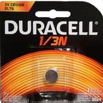 Duracell DL 1/3N (K58L,CR1/3N) Lithium Battery