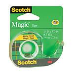 Scotch Magic Tape #105 3/4inch x 300inch Writable Matte Finish