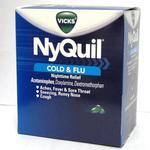 NyQuil Cold and Flu LiquiCaps 2pks Box of 25 2pks