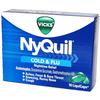 NyQuil Cold  and  Flu LiquiCaps Box of 16
