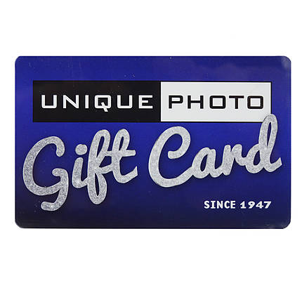 Unique Photo 100 Dollar Gift Card